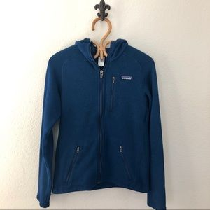 Mens Patagonia Better Sweater Hooded Fleece Jacket